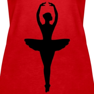 Ballet Dancer Tops - Women's Premium Tank Top