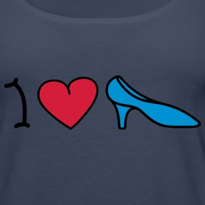 I love shoes Toppar - Premiumtanktopp dam