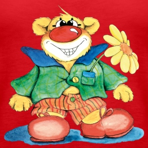 Sweet Clown Bear Toppar - Premiumtanktopp dam