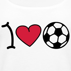 I love football Tops - Frauen Premium Tank Top