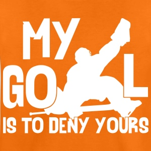 My Goal is to Deny Yours Kids' T-Shirt - Teenage Premium T-Shirt