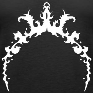 Ornamental arch with crown Tops - Women's Premium Tank Top