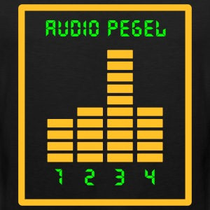 Audio Pegel T-Shirts - Männer Premium Tank Top