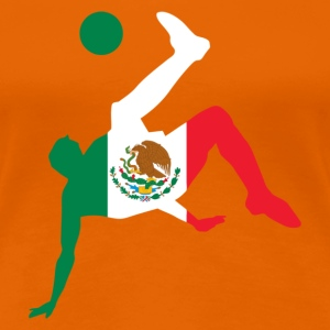 Mexico soccer - Vrouwen Premium T-shirt