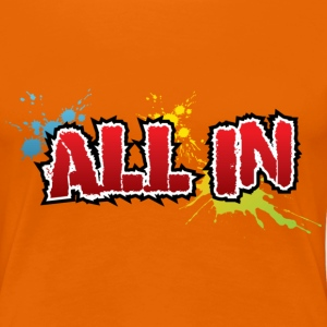 All in Graffiti T-Shirt - T-shirt Premium Femme