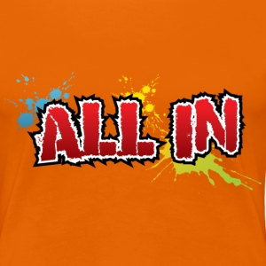 All in Graffiti T-Shirt - Premium-T-shirt dam
