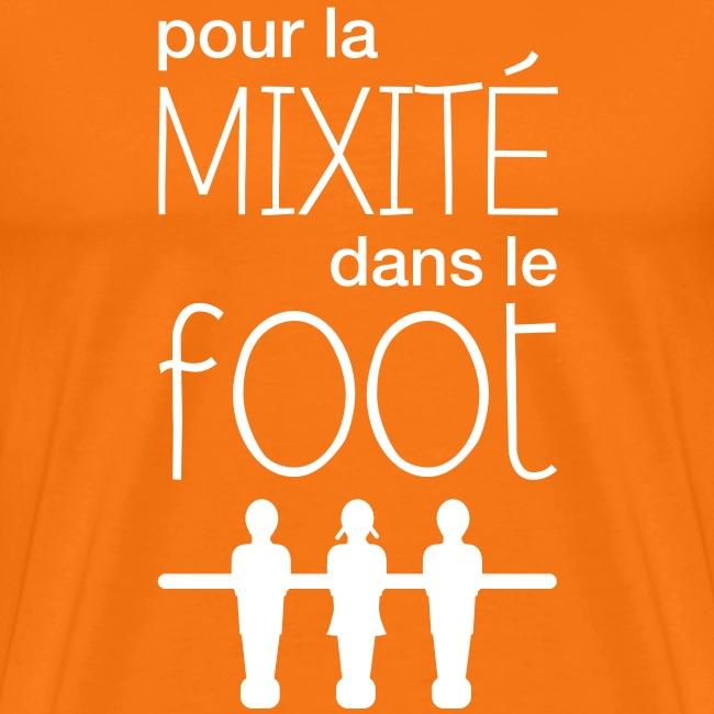 Pour la mixité dans le foot