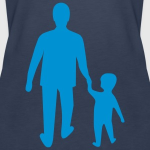 missing father and son Tops - Women's Premium Tank Top