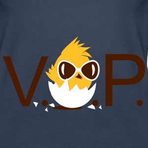 V.I.P. Chick with sunglasses Tops - Women's Premium Tank Top