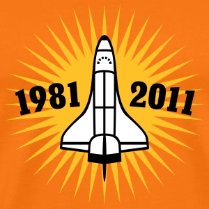 Shuttle | 1981 | 2011 T-Shirts - Men's Premium T-Shirt
