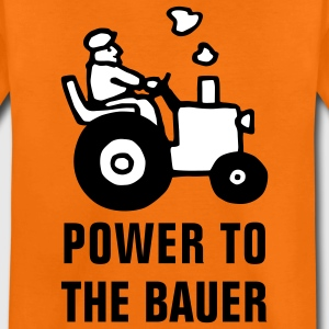 power_to_the_bauer_072011_b_2c Kinder T-Shirts - Teenager Premium T-Shirt