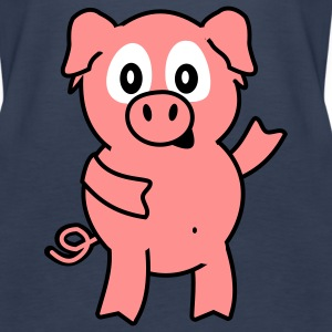 pig Topper - Premium singlet for kvinner