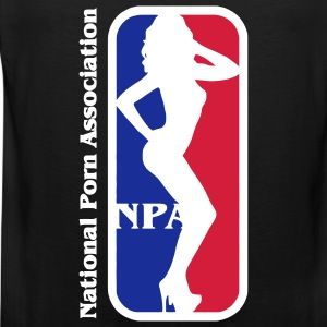 NBA? Ingen NPA - National Association Porn Porn Star T-shirts - Herre Premium tanktop