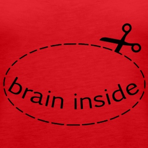 brain inside Tops - Frauen Premium Tank Top