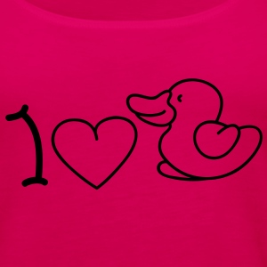 I love ducks Top - Canotta premium da donna
