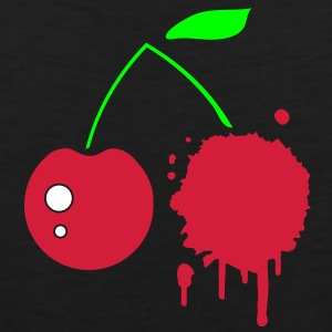 A cherry graffiti T-Shirts - Men's Premium Tank Top