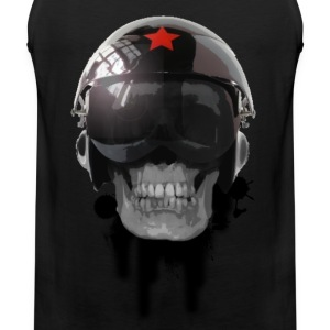 tshirt ccp helmet of death by customstyle T-shirts - Débardeur Premium Homme