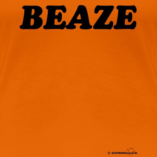 Beaze (zwarte opdruk)