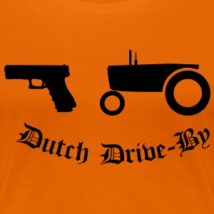 Dutch Drive-by T-shirts - Vrouwen Premium T-shirt