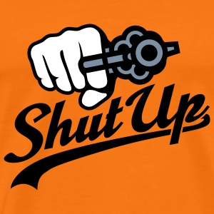Shut up | Revolver T-Shirts - Premium-T-shirt herr