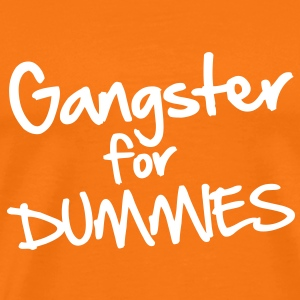 Gangster for Dummies T-shirts - Premium-T-shirt herr