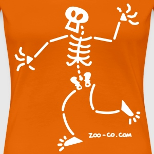 Surprised Skeleton T-Shirts - Women's Premium T-Shirt