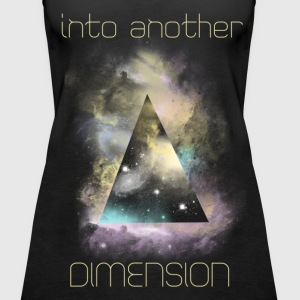 Into another dimension Tops - Frauen Premium Tank Top