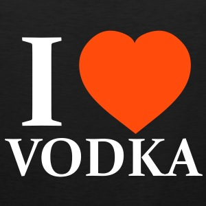 I Love Vodka Camisetas - Tank top premium hombre
