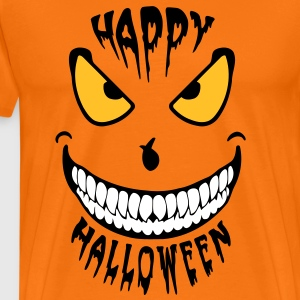 Halloween Happy Smile (3c) new Tee shirts - Männer Premium T-Shirt