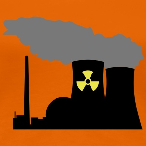 Nuclear Power (Vector) - Frauen Premium T-Shirt