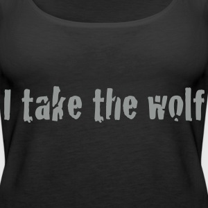 I take the wolf  Toppe - Dame Premium tanktop