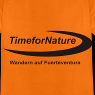 Motiv ~ TimeforNature T-Shirt für Kid's  mit Logo rückseitig