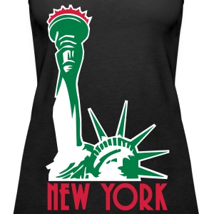 Liberty Enlightening the World, New York, NY, Freiheitsstatue, Statue of Liberty, www.eushirt.com, FR - Débardeur Premium Femme