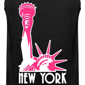 Liberty Enlightening the World, New York, NY, Freiheitsstatue, Statue of Liberty, www.eushirt.com, FR - Débardeur Premium Homme