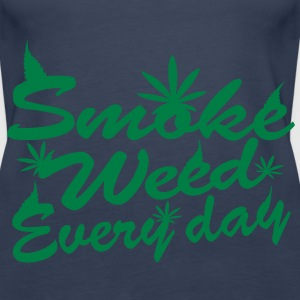 smoke weed every day Tops - Women's Premium Tank Top