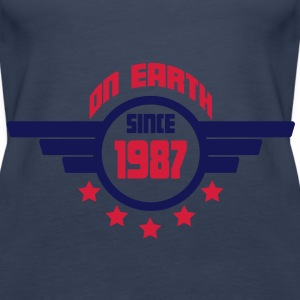 1987 on earth - Geburtstag -Tops - Frauen Premium Tank Top