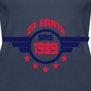1989_on_earth Toppe - Dame Premium tanktop