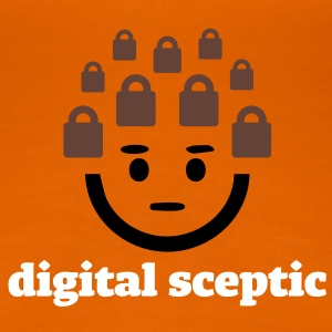 Digital Sceptic - Frauen Premium T-Shirt