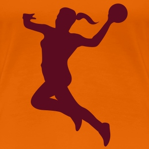 Handball female - Women's Premium T-Shirt