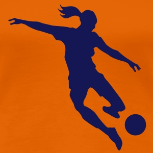 Soccer female - Women's Premium T-Shirt