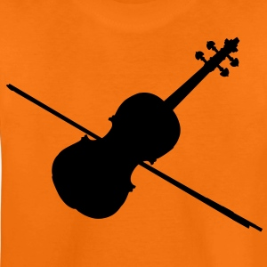 music violin fiddle Kinder T-Shirts - Teenager Premium T-Shirt
