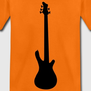 music base guitar Camisetas niños - Camiseta premium adolescente
