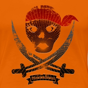 Piratenbraut - Frauen Premium T-Shirt