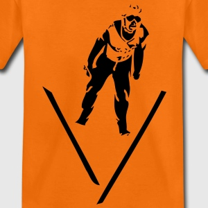 snowboard winter sport skijumping ski jumping Kids' Shirts - Teenage Premium T-Shirt