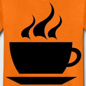 coffee cup tea cafe Barn-T-shirts - Premium-T-shirt tonåring