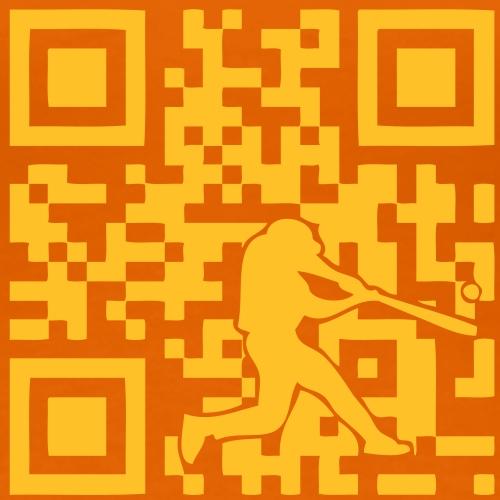 code qr ilove baseball