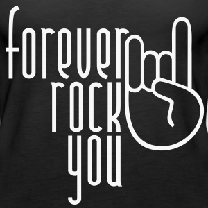MANO CORNUTA - forever rock you | Frauen Tank Top - Frauen Premium Tank Top