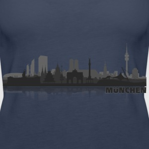 munich02 Tops - Frauen Premium Tank Top