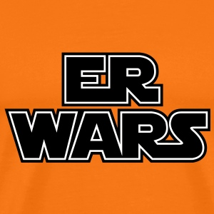 Er wars T-Shirts - Premium T-skjorte for menn