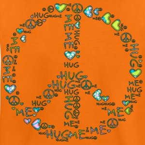 HUG ME - PEACE | Kindershirt - Teenager Premium T-Shirt